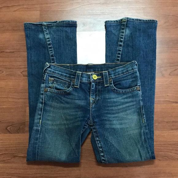 True Religion Denim - True Religion Jeans 14 X 27 snap buttons